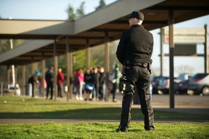 Обеспечение охраны при проведении мероприятий