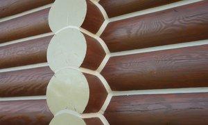 Теплый шов для деревянного дома