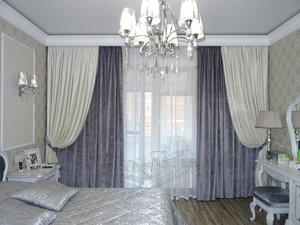 Свежие фотографии наших работ со шторами для спальни