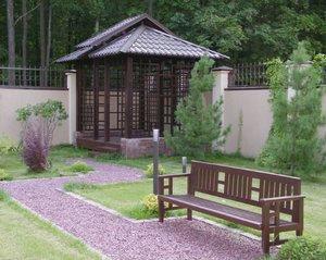 Малые архитектурные формы в оформлении садового участка