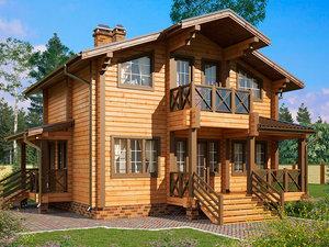 Наш опыт в продаже домов из бруса