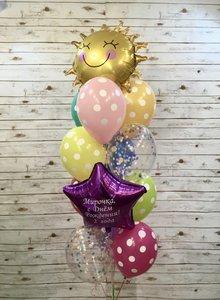 Воздушные шары на День защиты детей в Череповце