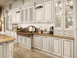 Кухонные гарнитуры с итальянскими фасадами в Череповце