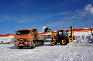 Заказать машину для вывоза снега в Вологде