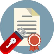 Подписание документа электронной подписью