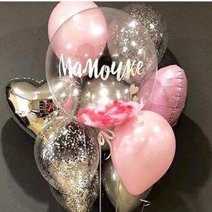 Воздушные шарики ко Дню матери купить заказать в Череповце