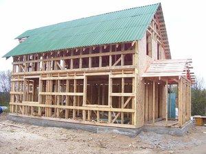 Возведение каркасных домов под ключ в Череповце