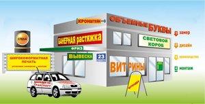 Изготовление наружной и уличной рекламы в Вологде