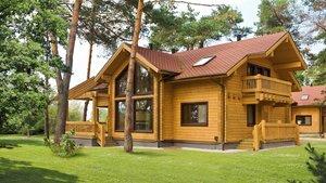 Где заказать строительство дома из профилированного бруса?