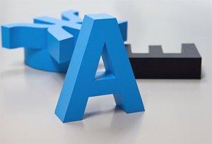 Изготовление объемных букв для рекламных конструкций