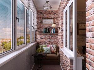 Заказать установку пластиковых окон на балконе