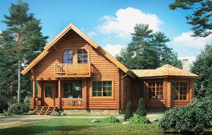 Заказать постройку деревянного дома под ключ в Череповце