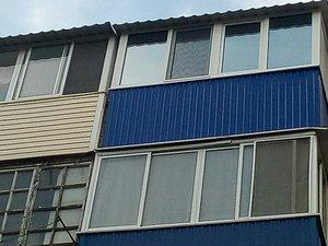 Тонировка балконов в Орске