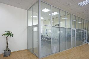 Монтаж офисных перегородок в Красноярске