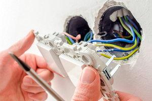 Замена электрики в соответствии с требованиями безопасности!