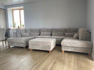 Трудно найти место всем гостям? Хочется большой, но при этом стильный диван?