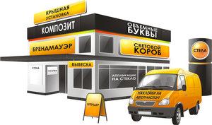 Услуги по производству наружной рекламы в Череповце