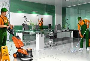 Ежедневная уборка офисов и торговых помещений.