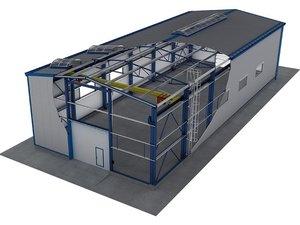 Постройка быстровозводимых зданий для любых отраслей