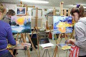Наша художественная школа приглашает на занятия!
