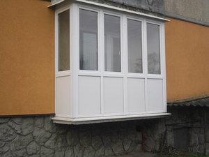 Заказать пластиковый балкон по выгодной цене