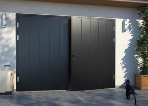 Распашные гаражные ворота. Надежные и долговечные!