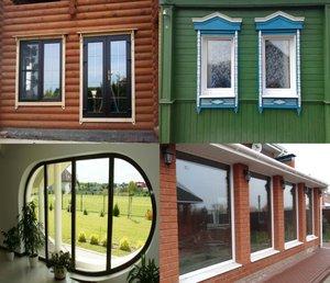 Недорогие пластиковые окна для дачи