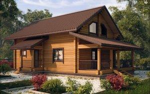 Возведение деревянных домов под ключ