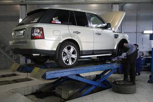 Записаться на ремонт range rover в Вологде.