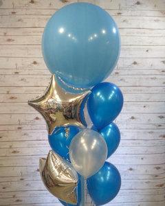 Фонтан из воздушных шаров для мальчика купить в Череповце