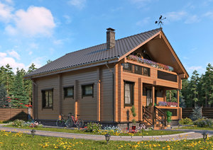 Строительство домов из профилированного бруса. Работаем качественно!