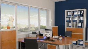 Заказать окна ПВХ в офис