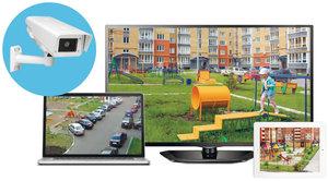 Видеонаблюдение для многоквартирных домов.