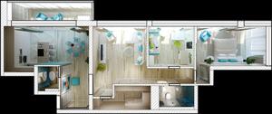 Проект квартиры в Вологде