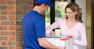 Экспресс доставка почты в любой район города