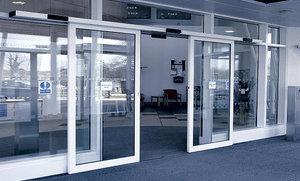 Автоматические двери для офисов и торговых центров