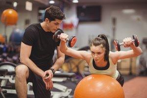 Тренировки для похудения с тренером