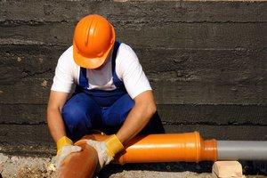 Монтаж систем канализации дома в Вологде