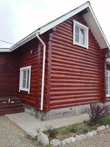 Объект в деревне Еремеево. Фото работ