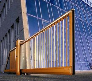 Откатные ворота. Легкость в управлении и экономия места!
