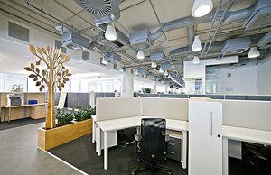 Вентиляция и кондиционирование в офисе и офисном здании. Проектирование и монтаж.