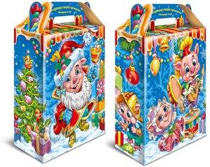 Изготовление новогодней упаковки на заказ