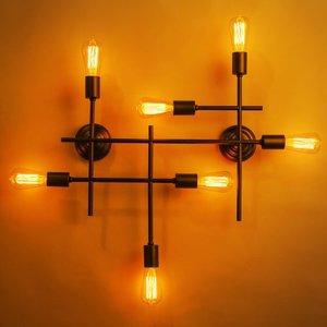 Модное освещение – металлические люстры