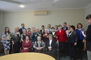 Торжественный приём руководителя администрации Заводского района, посвящённого Международному женскому Дню 8 марта.