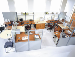 Заказать установку офисных перегородок в Череповце