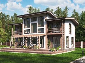 Строительство домов под ключ любой площади и этажности