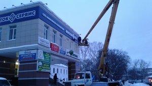 Монтаж рекламных конструкций в Череповце