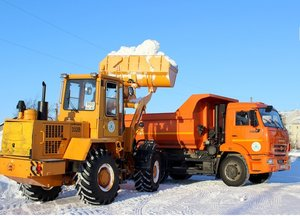 Вывоз снега в Вологде. Работаем круглосуточно!