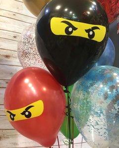 Воздушные шарики с героями Ниндзяго
