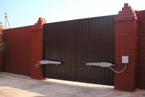 Заказать монтаж автоматики для ворот в Череповце и Череповецком районе